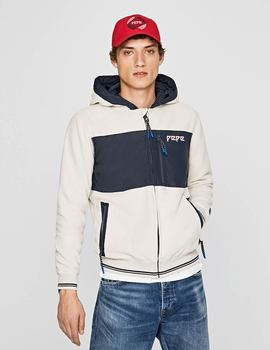 Thumb cazadora pepe jeans lucian beige para hombre 2