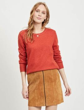 Thumb jersey vila clothes viril color teja de mujer 4