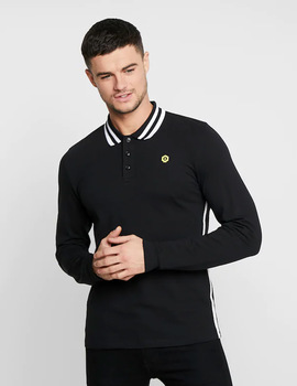 Thumb polo jack and jones jcobrooke negro de hombre 4