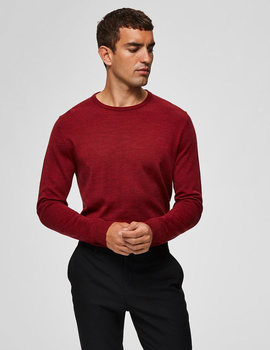 Thumb jersey selected slhtower granate para hombre 3