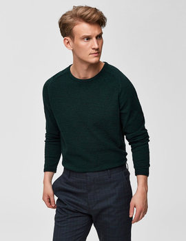 Thumb jersey selected slhbakes verde para hombre 2