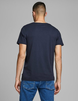 Thumb camiseta jack and jones jprrocketman azul hombre 7