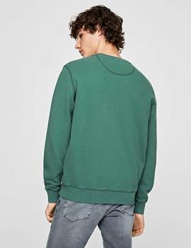 Thumb sudadera pepe jeans lucas verde para hombre 3