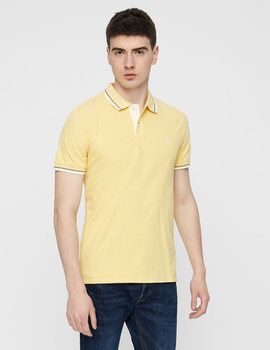 Thumb polo selected slhnewseason amarillo para hombre 3