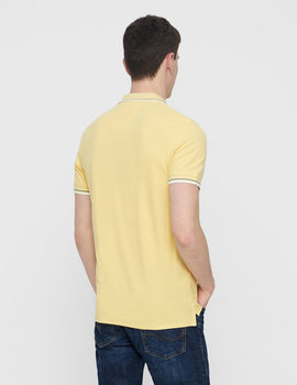 Thumb polo selected slhnewseason amarillo para hombre 4