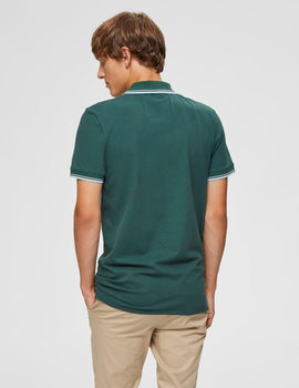 Thumb polo selected slhnewseason verde de hombre 6