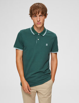 Thumb polo selected slhnewseason verde de hombre 5