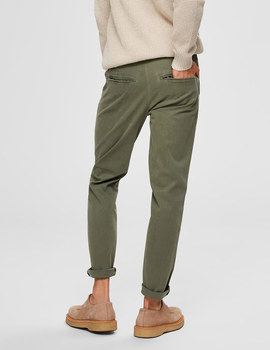 Thumb pantalon selected slhslim yard verde de hombre 6