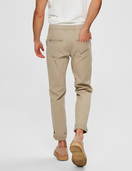 Thumb pantalon selected slhslim yard beige de hombre 6