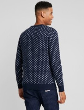 Thumb jersey jack and jones jorjulian azul marino de hombre 2