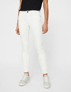 Thumb pantalon noisy may nmkimmy blanco para mujer 4