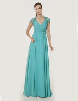 Thumb vestido x m collection 4908 verde para mujer 1