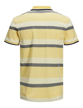 Thumb polo jack jones jprrise amarillo para hombre 1