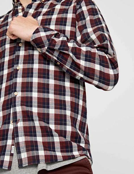 Gallery camisa pepe jeans roger granate para hombre