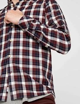 Camisa Pepe Jeans Roger granate para hombre.