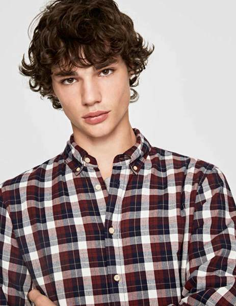 Gallery camisa pepe jeans roger granate para hombre 1
