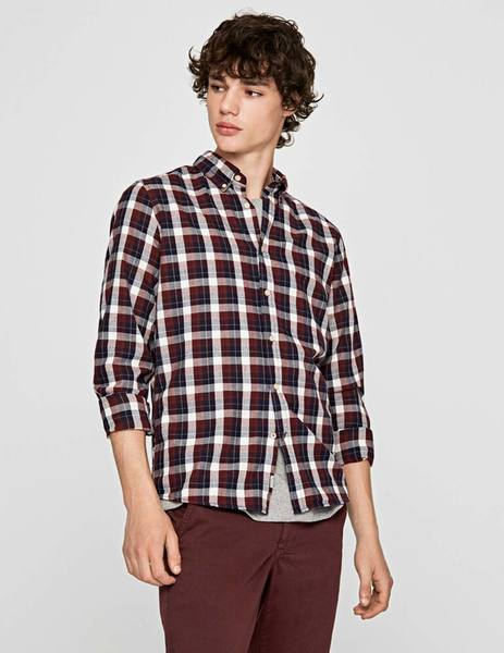 Gallery camisa pepe jeans roger granate para hombre 3