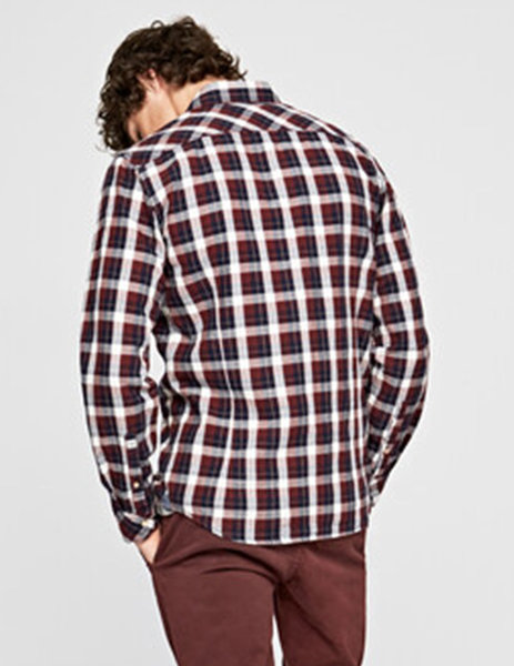 Gallery camisa pepe jeans roger granate para hombre 4