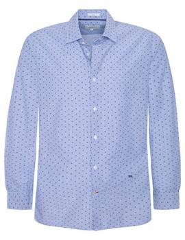 Camisa Pepe Jeans Pierre azul para hombre