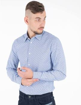 Thumb camisa pepe jeans pierre azul para hombre 1
