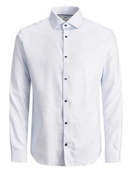Thumb camisa jack and jones jprblaviggo blanca 3
