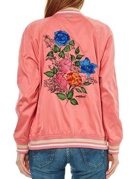 Bomber Pepe Jeans Amie rosa para mujer