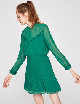 Thumb vestido pepe jeans luppe verde para mujer 2