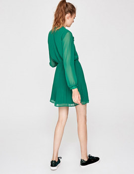 Vestido Pepe Jeans Luppe verde para mujer