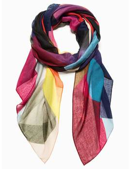 Foulard Desigual Mercury Rectangle de mujer.