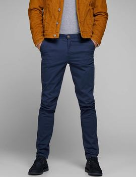 Thumb pantalon jack and jones jjimarco azul 2