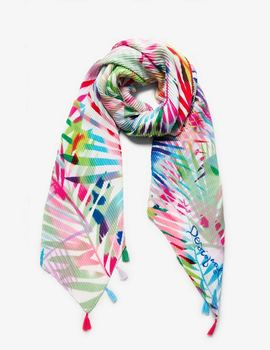 Thumb foulard desigual palm multicolor 1